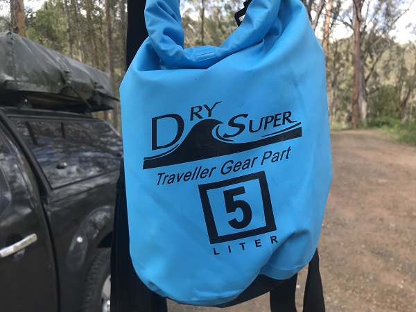 Dry Bag for Northbrook Gorge hiking track and swimming holes